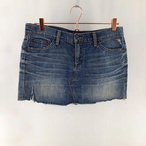 """Lucky Brand Denim """"BLOSSOM"""" Mini Skirt Size 10/30"""